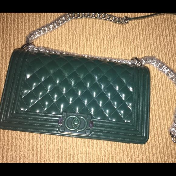 b8b03b115da3 toyboy Bags | Jelly Im Not Chanel Parody Bag Purse | Poshmark